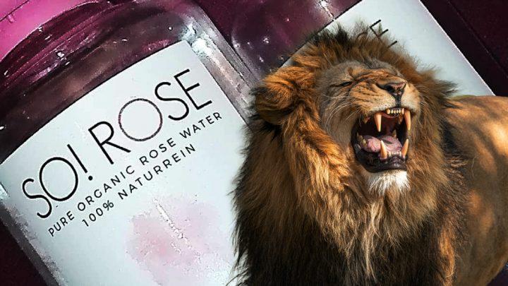 So-Rose Reinigungswasser gegen Hautprobleme